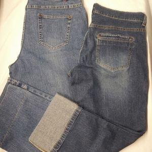 2 jeans/1 price Capri Old Navy|Bass